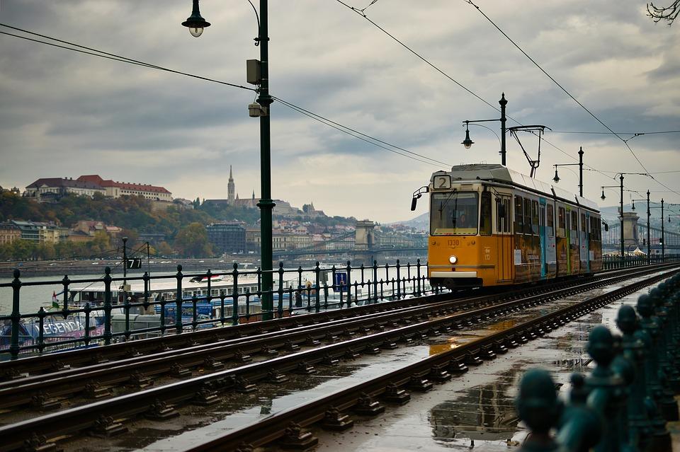 budapest Number 2 Tram