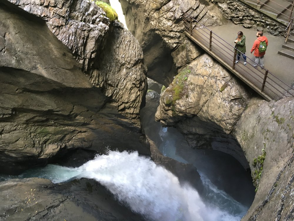 Trummlebach Falls