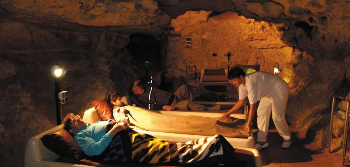 Abaligeti gyógybarlang barlangterápia