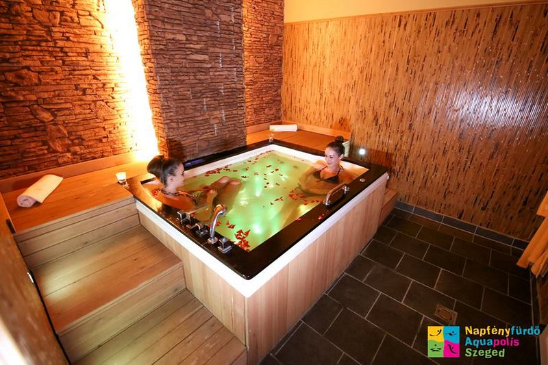 Napfényfürdő Aquapolis Szeged Gyógyfürdő csendes wellness