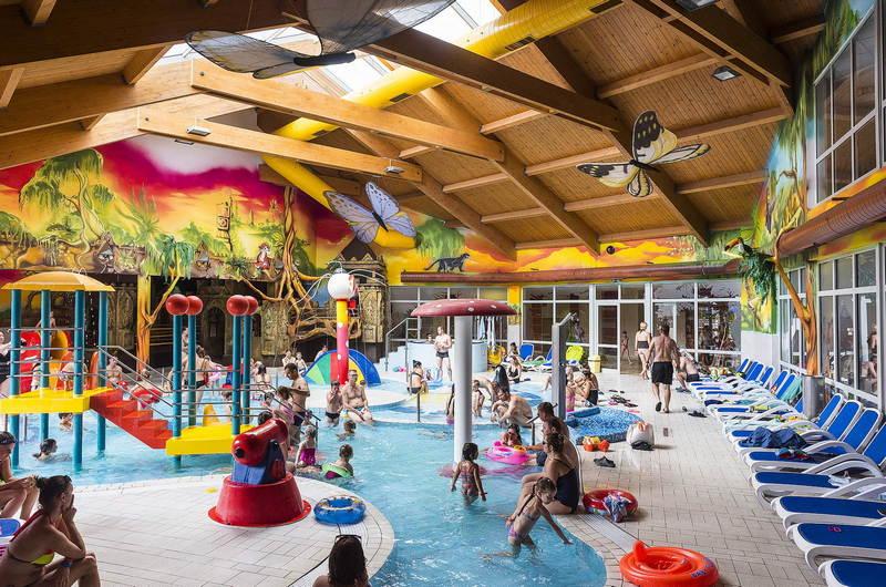 Nyíregyháza-Sóstógyógyfürdő Aquarius Élményfürdő gyermekmedence