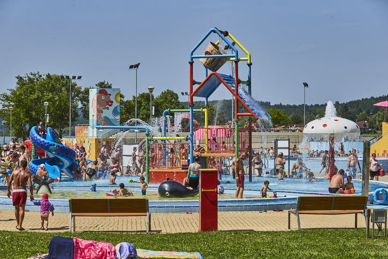 Orfűi Aquapark gyermekmedence