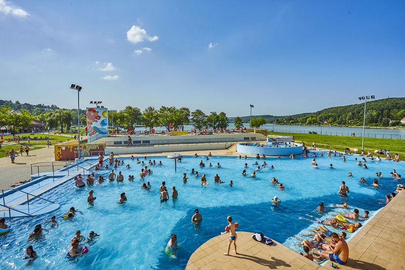 Orfű Aquapark sportmedence