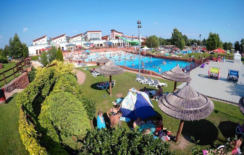 Balatonfüredi Annagora Aquapark élményfürdő