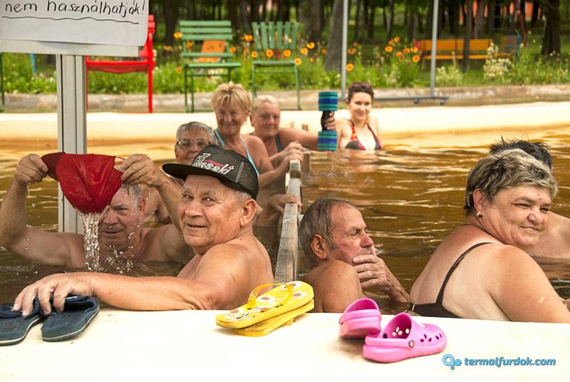 Debrecen Kerekestelepi Fürdő gyógymedence