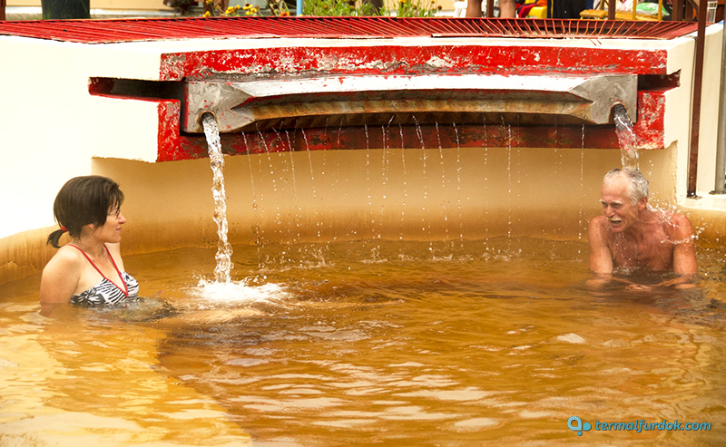 Debrecen Kerekestelepi gyógyfürdő gyógyvíz