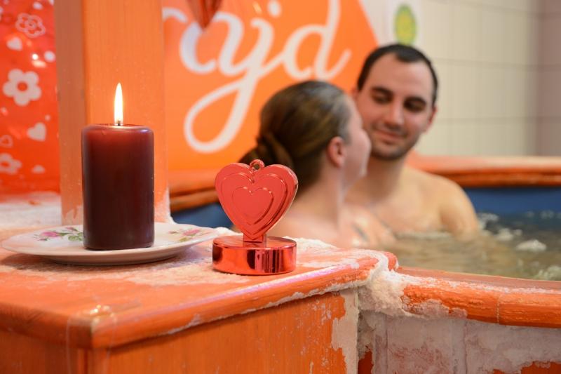 Valentin nap a fürdőkben