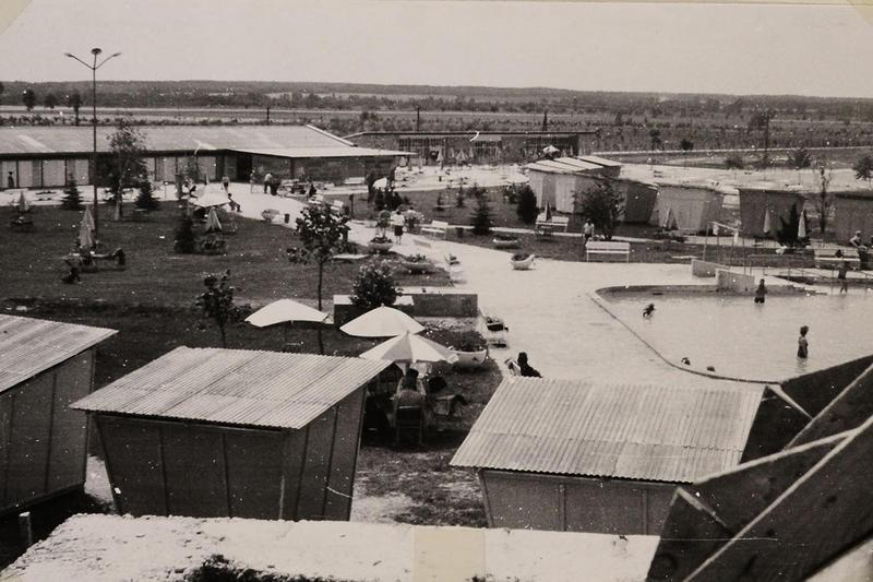 bük termálfürdő 1967 archív