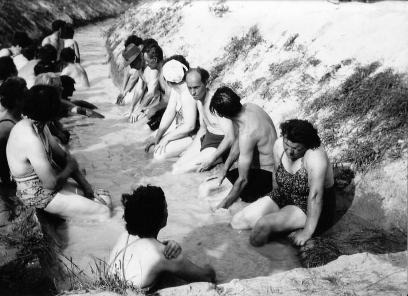 bükfürdő gyógyvíz árokfürdőzés archív
