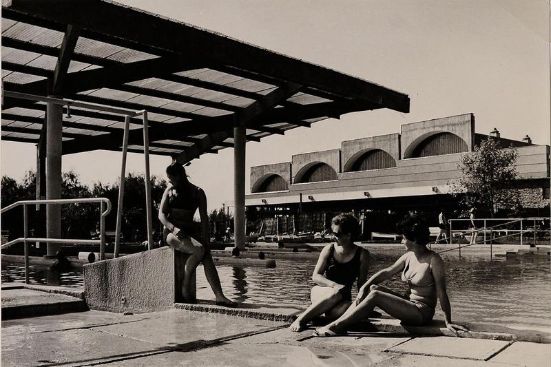 büki termálfürdő archív 1972