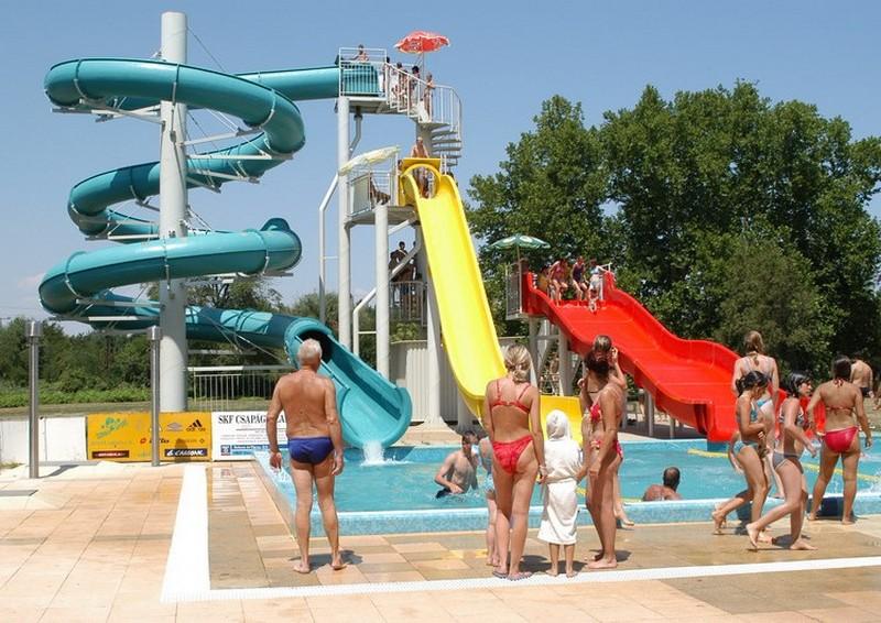 Szentes Aquapark csúszdapark