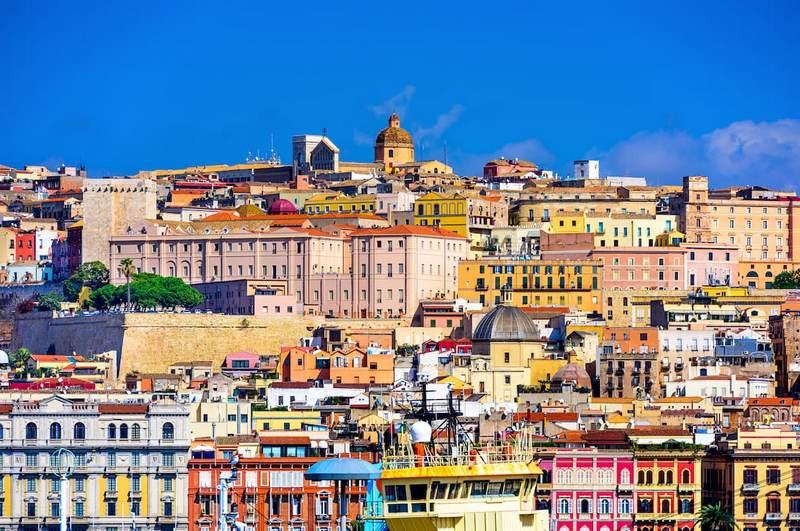 Szardínia Cagliari