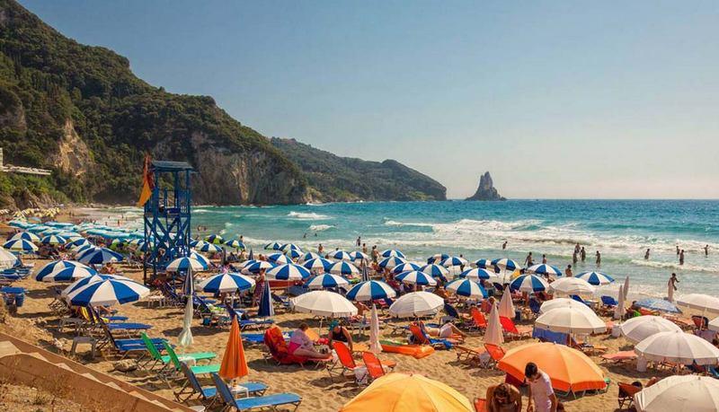 orfu Agios Gordios Beach