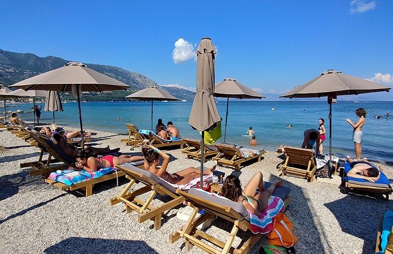 korfu Ipsos Beach