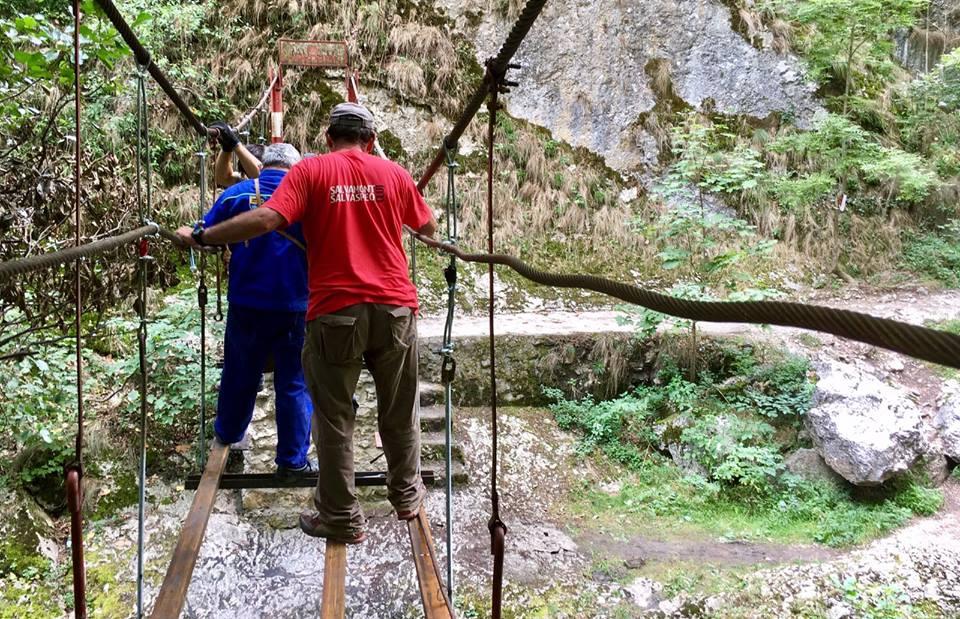 Tordai-hasadék hegymászók