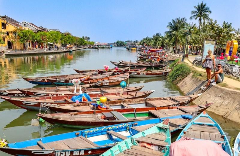 Vietnám Hoi An halászfalu