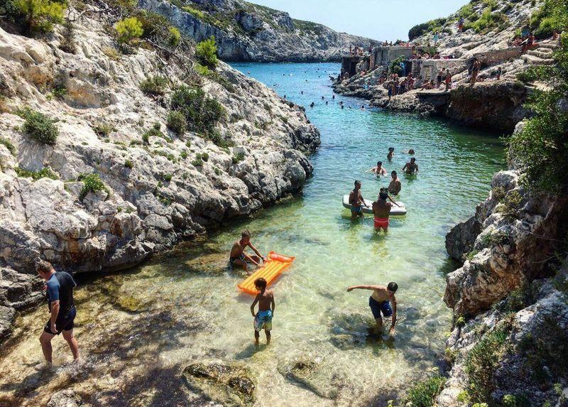 Zakynthos limnionas strand