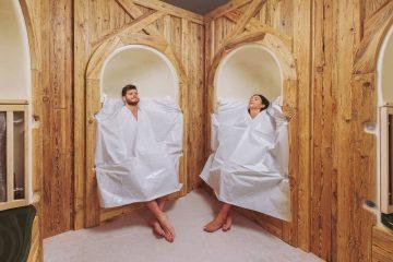 bükfürdő wellness Alpesi gyógynövényes gőzfülke