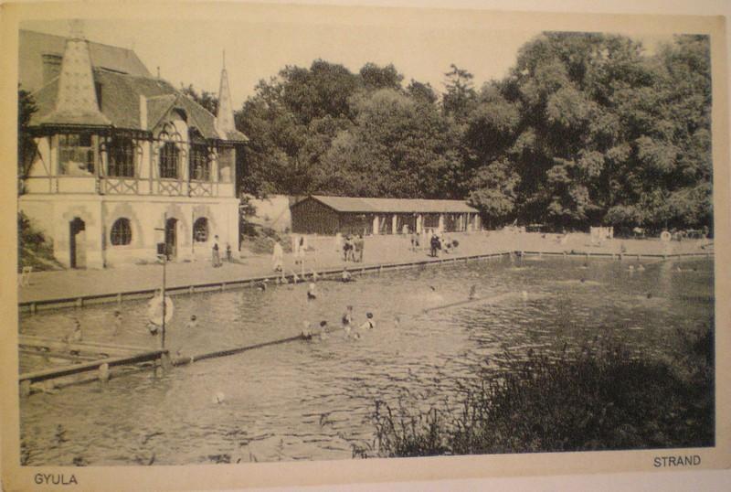 gyula-partfürdő 1920