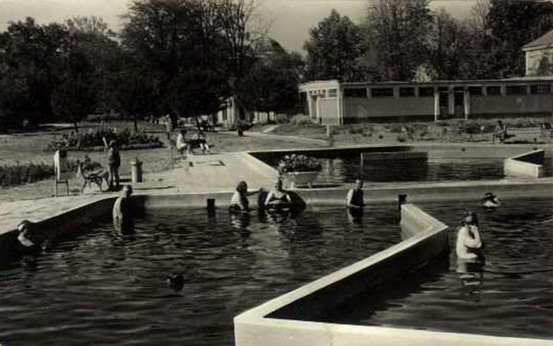 gyulai várfürdő 1970-es évek