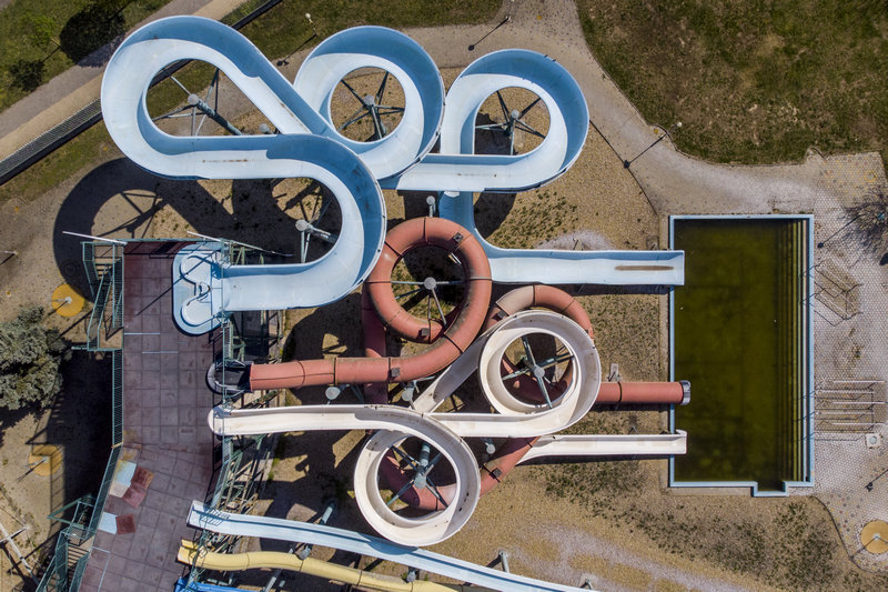 Hungarospa fürdőkomplexum Aquapark csúszda Hajdúszoboszló