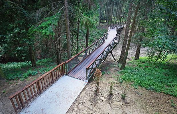Jeli Arborétum Lombkorona-ösvény