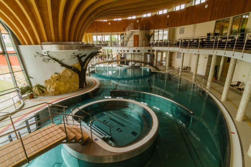podhájkai Kúpalisko termálfürdő Aquamarin Wellness Központ