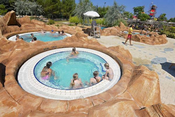 Aquapark Dalmatia külső medence