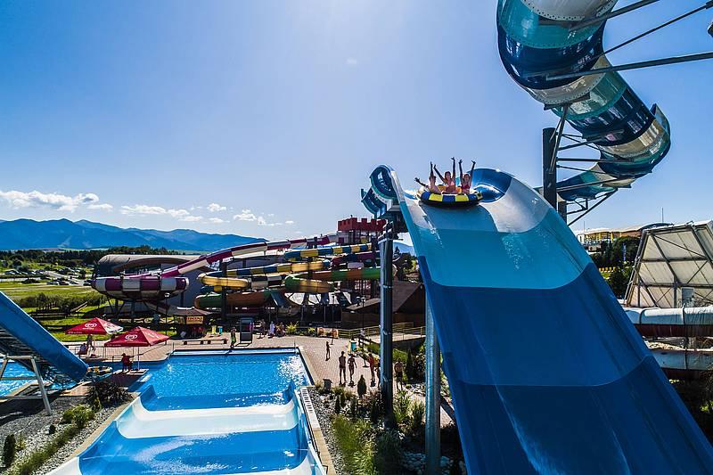 Aquapark Tatralandia csúszda
