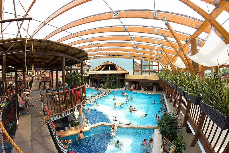 Aquapark Tatralandia tropical pool