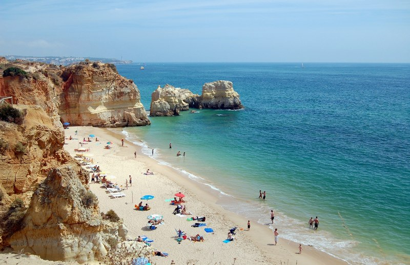 Bulgária-tengerpart beach