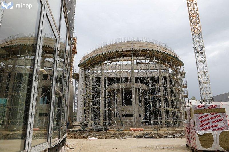 Miskolctapolcai strand építés
