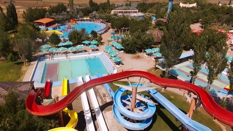 Thessaloniki Waterland Aquapark csúszda