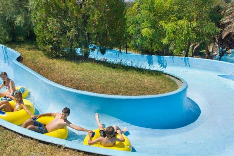 Thessaloniki Waterland Aquapark élményfürdő