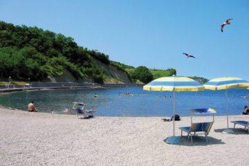 szlovénia beach tengerpart izola