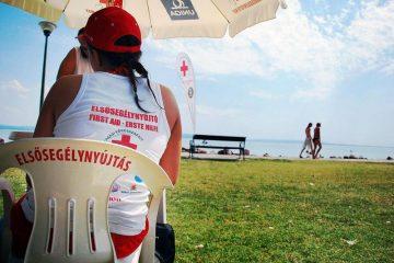 Magyar Vöröskereszt balaton elsősegély