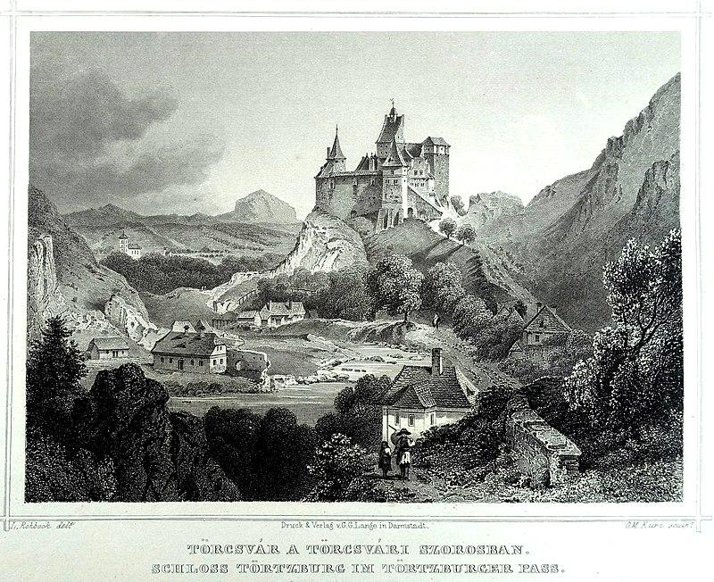 Törcsvár Drakula kastélya