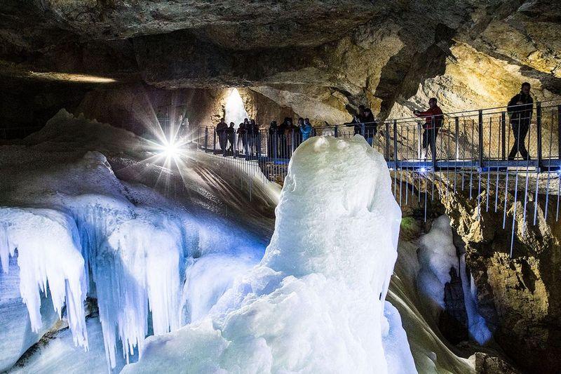 Dachstein Óriás jégbarlang