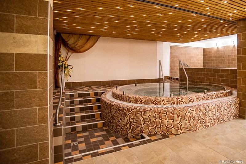Ametiszt Hotel Harkány wellness fürdő