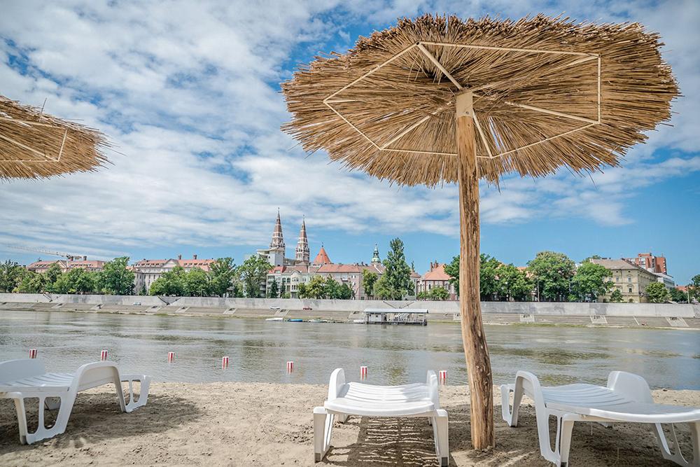Lapos Beach Szeged szabadstrand
