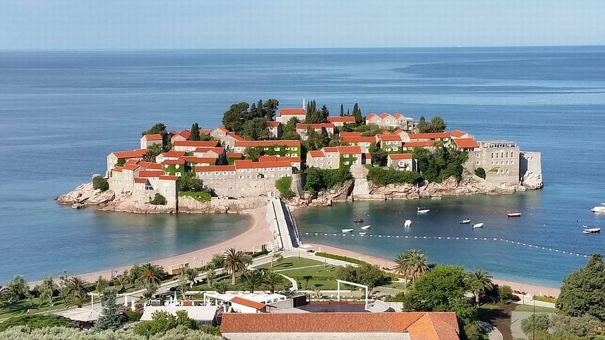 Sveti Stefan strand