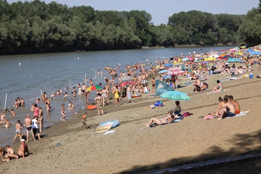 Tiszalök - Tisza-parti strand