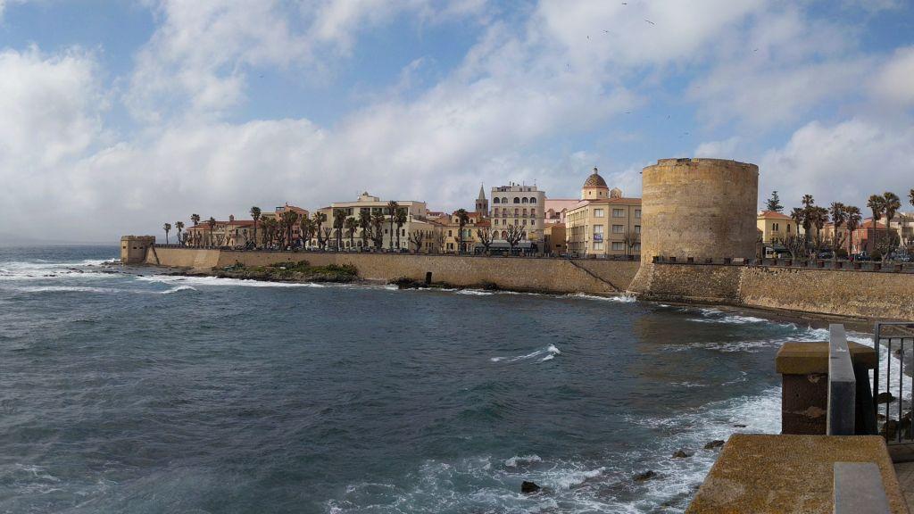 Alghero óváros