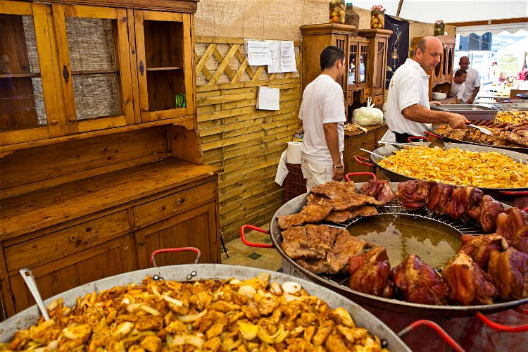 Street Food In Budapest