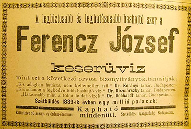 Ferenc József keserűvíz