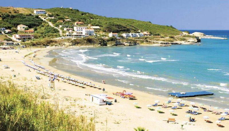 Korfu Agios Stafanos Strand