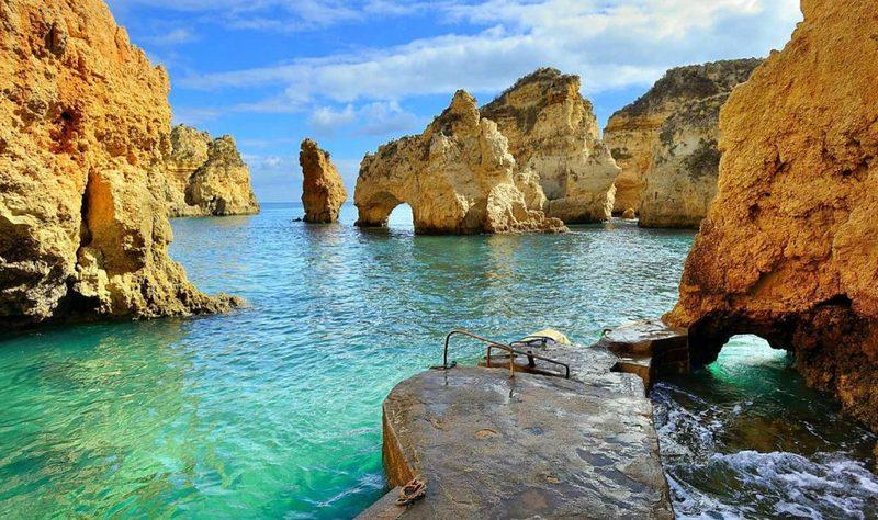 Algarve Ponta-da-Piedade-Lagos