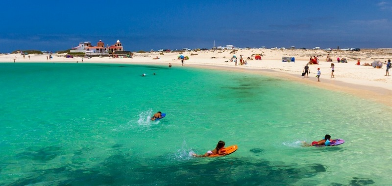 Lanzarote Arrecife La Loncha strand