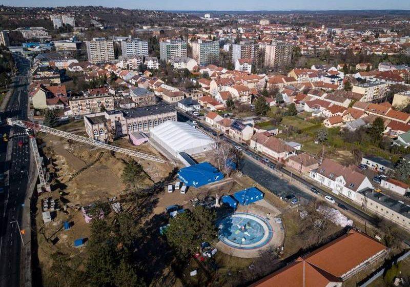 zalaegerszegi városi strand és uszoda építese