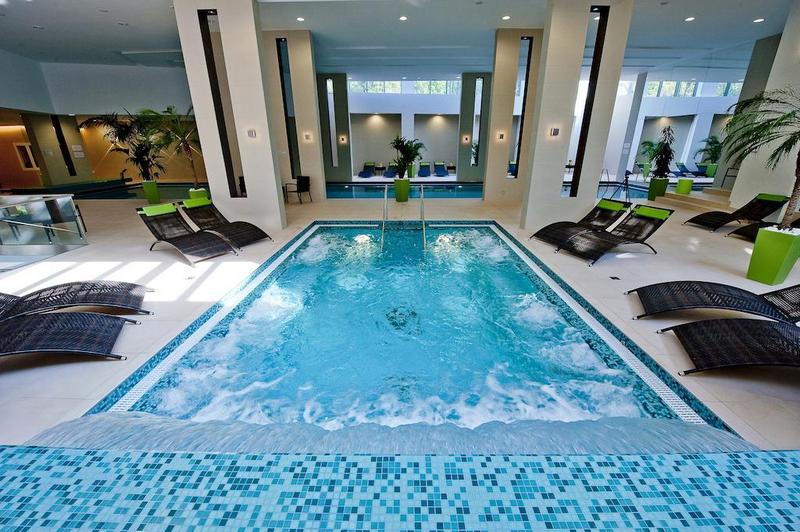 Abacus Business & Wellness Hotel fürdő